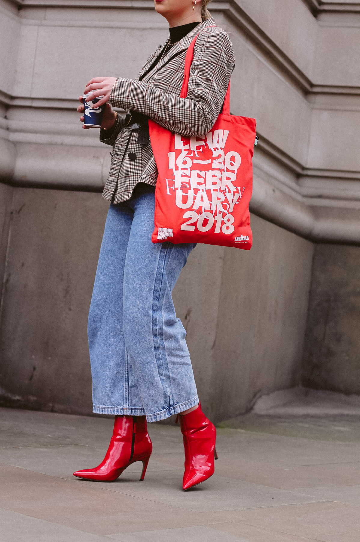 london fashion week aw18 outfit inspiration