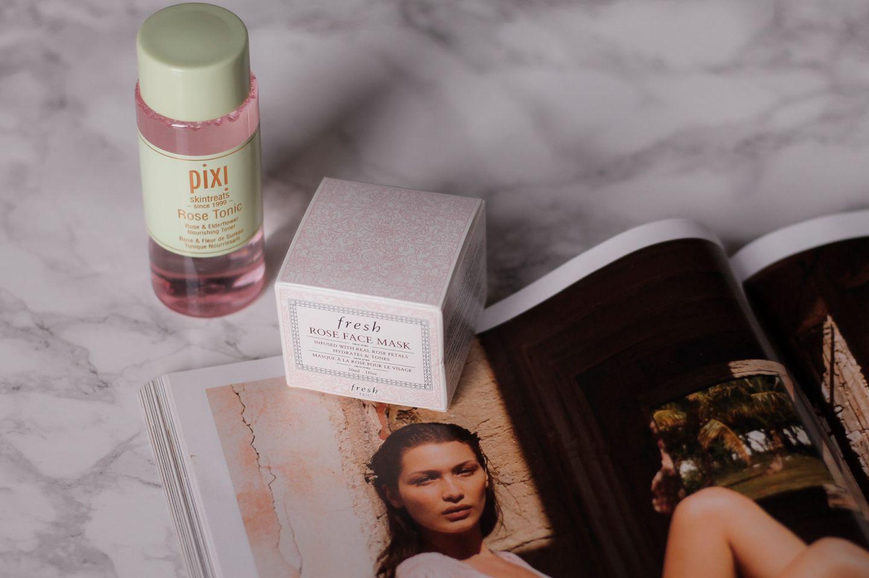 pixi beauty rose tonic skincare
